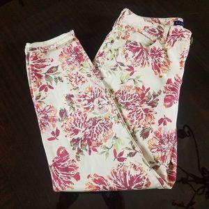 Bandolino Floral Lisbeth ankle Jeans